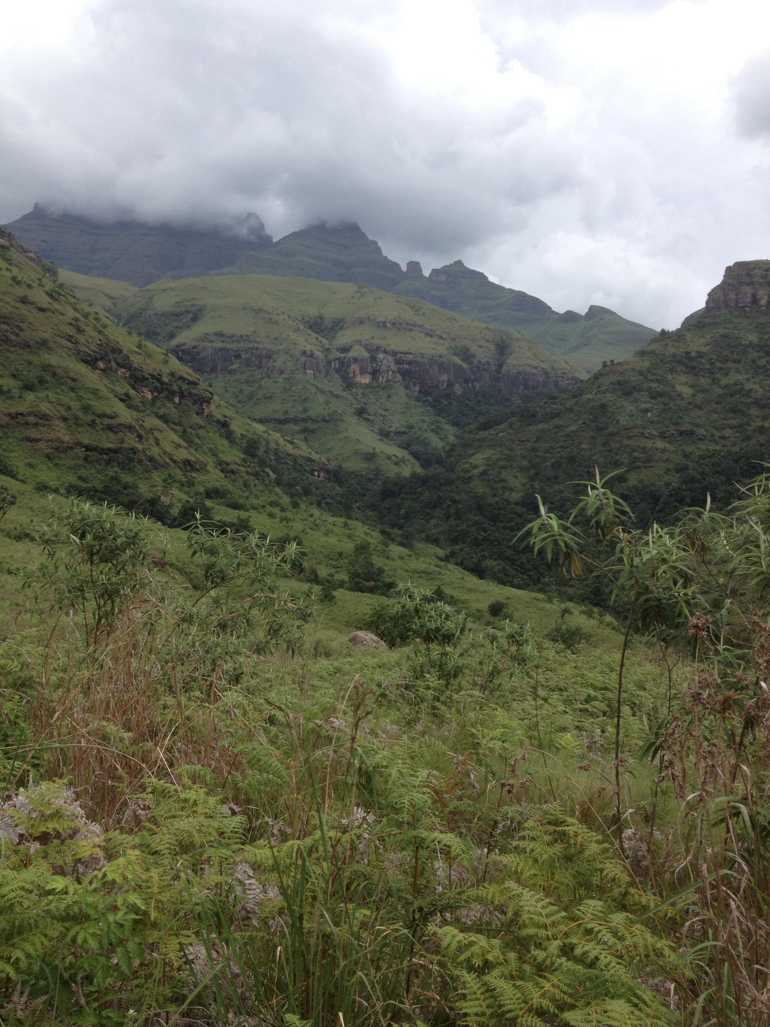 Hiking in a wonderland.