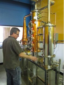 David, Fort Collins' Distillery Master, living his dream.
