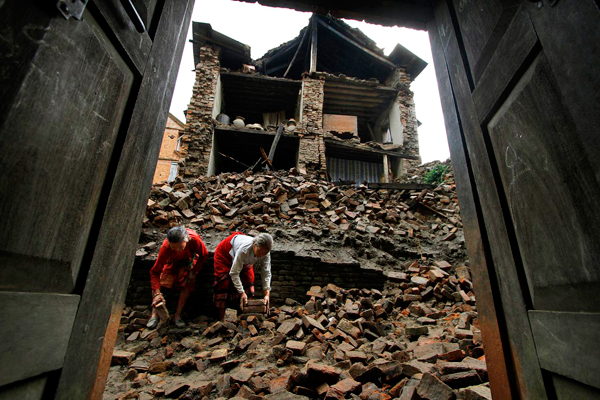 The Nepal earthquake www.newscientist.com