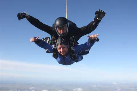 Note: that's not me...nor the guy...but same joy. Thanks http://www.goskydive.com/